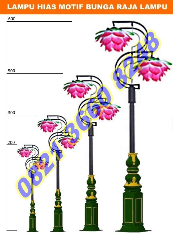Lampu Hias Bunga Mawar Besar